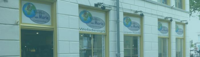 Winkel Kampen teleweb van Marle